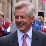 Gloucester MP Richard Graham in the Gloucester Day Parade on Saturday. (PIC PAUL NICHOLLS) 3 SEPTEMBER 2011